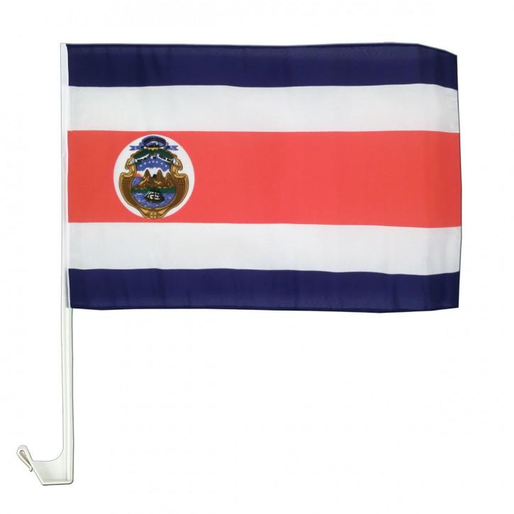 Paket mit 10 Autoflaggen Costa Rica Art.-Nr. 0700200506
