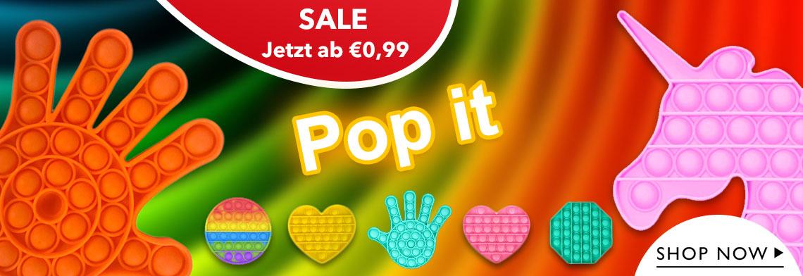 Der neue Trend - Pop it Push Pop Spielzeug