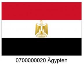 Paket mit 10 Ägypten Laenderflagge Art.-Nr. 0700000020