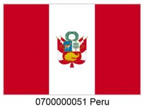 Paket mit 10 Peru Laenderflagge Art.-Nr. 0700000051