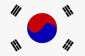 Paket mit 10 Länderflagge Südkorea Art.-Nr. 0700000082
