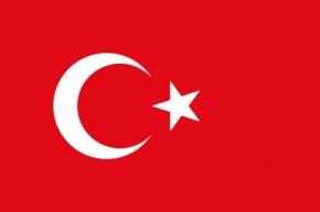 Länderflagge Tuerkei Art.-Nr. 0700000090 10 Stück