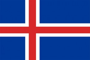 Paket mit 10 Island Laenderflagge Art.-Nr. 0700000354