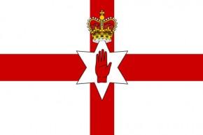 Paket mit 10 Laenderflagge Nord-Irland Art.-Nr. 0700000441