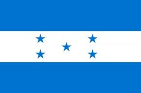 Paket mit 10 Länderflagge Honduras Art.-Nr. 0700000504