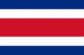 Paket mit 10 Costa Rica Länderflaggen Art.-Nr. 0700000506
