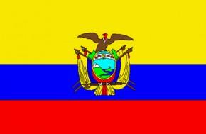 Paket mit 10 Flagge Ecuador Art.-Nr. 0700000593