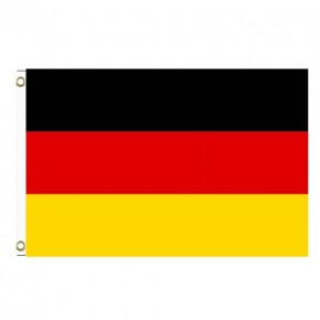 Paket mit 10 Laenderflagge Deutschland mit Oesen Art.-Nr. 0700000049a