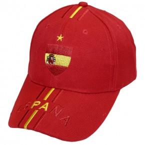6 Caps Spanien Art.-Nr. 0700135034