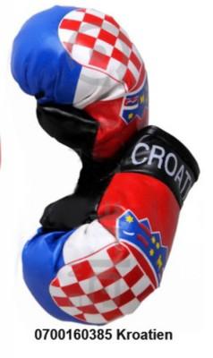 Paket mit 6 Mini Boxhandschuhe Kroatien Art.-Nr. 0700160385