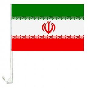 Paket mit 10 Autoflaggen Iran Art.-Nr. 0700200098