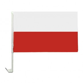 10 Autoflagge Polen Art.-Nr. 0700200148
