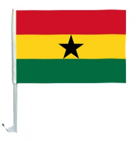 10 Autoflagge Ghana Art.-Nr. 0700200233