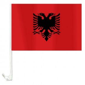 10 Autoflagge Albanien Art.-Nr. 0700200355