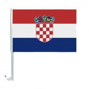 10 Autoflagge Kroatien Art.-Nr. 0700200385