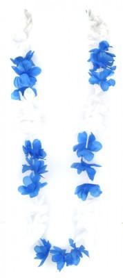 Paket mit 10 Blumenketten Blau Weiß Art.-Nr. 0700422030