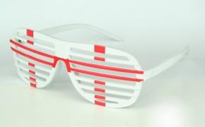 Paket mit 12 Fan Brillen England Art.-Nr. 0700423044