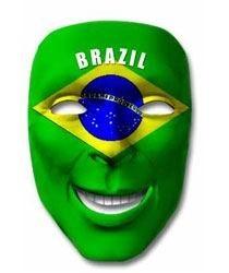 Fan-Maske Brasilien Art. Nr. 0700425081