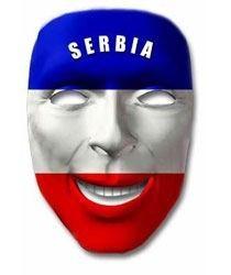 Fan-Maske Serbien Art. Nr. 0700425381