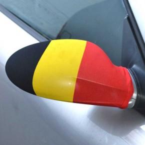 Paket mit 12 Autospiegelflaggen Belgien Art.-Nr. 0700650032