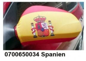 Paket mit 12 Autospiegeflaggen Spanien Art.-Nr. 0700650034