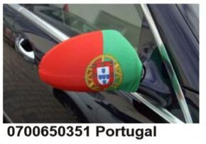 Paket mit 12 Autospiegeflaggen Portugal Art.-Nr. 0700650351