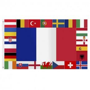 Paket mit 10 Europa Flagge Art.-Nr. 0700EM2016