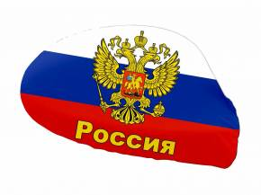 Paket mit 12 Autospiegelflaggen Russland Art.-Nr. 0700650034
