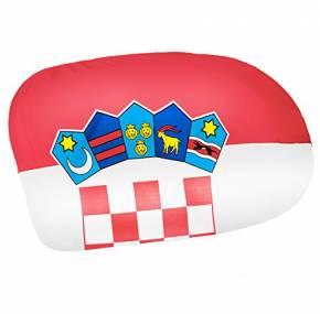 Paket mit 12 Autospiegelflaggen Kroatien Art.-Nr. 0700650034