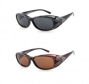 -Paket mit 12 Polarisierte Überziehbrillen Sonnenbrillen Art.-Nr. BM5010A