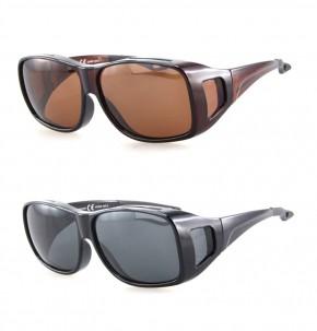 -Paket mit 12 Polarisierte Überziehbrillen Sonnenbrillen Art.-Nr. BM5024