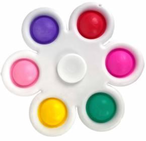 Mini Push Pop - Pop it - Spinner - Spielzeug - Toy - Antistress - Spinner - 3 Stück