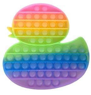 Push Pop XL - Pop it - Ente Mehrfarbig - 3 Stück
