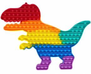 Push Pop XXL - Pop it - Dinosaurier Mehrfarbig - 3 Stück