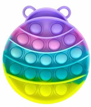 Push Pop - Pop it Spielzeug - Käfer Mehrfabig - 3 Stück