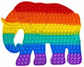 Push Pop XXXL 40cm - Pop it - Elefant Mehrfarbig - 3 Stück