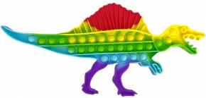 Push Pop XL - Pop it  - Dinosaurier Rainbow - 3 Stück