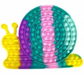 Push Pop XXL 28cm - Pop it - Schnecke Mehrfarbig - 3 Stück