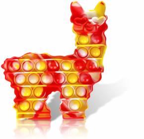 Push Pop - Pop it Fidget Spielzeug - Mehrfarbig - 3 Stück