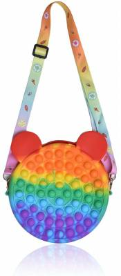 Push Pop - Umhängetasche - Handtasche - Pop It Tasche - Fidget Toys - Antistress - 3 Stück