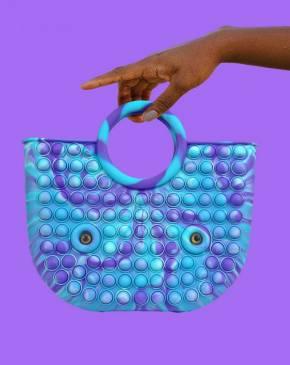 Push Pop - Handtasche - Pop It Tasche - Fidget Toys - Antistress - 3 Stück