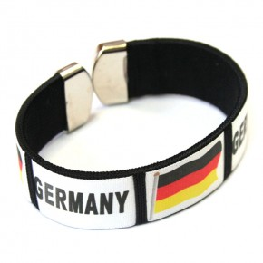 Paket mit 12 Armbänder Deutschland Art.-Nr. DEARM2018
