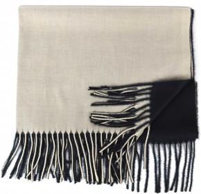 Schal Doppelseitig Cashmere / Viscose - FA-78089-51-BLACK-BEIGE