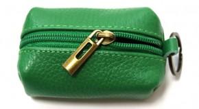 Schlüsselanhänger mit  Mini  Tasche aus Leder  Art.-Nr. MM02-400