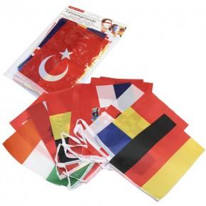 Fahnengirlande Europäische Länder Art.-Nr. MT-651055