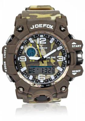 Herrenuhr Digitale Armbanduhr Herren, Military Sport Watch Analog Digital Chronograph Uhr Wasserdicht Waterproof