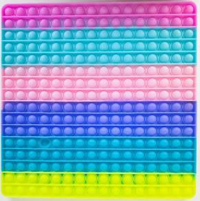 Push Pop XXL - Pop it - Viereck Mehrfarbig - 3 Stück