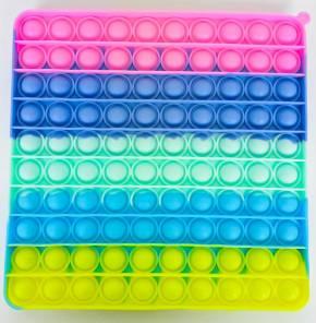 Push Pop XL - Pop it  - Viereck Mehrfarbig - 3 Stück