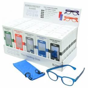 Blaulichtfilter Lesebrille - Blue light screen protect reading glasses  - 30 Stück