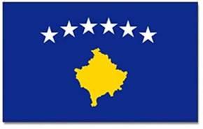 10x Länderflagge Kosovo mit Ösen 90 x 150 Art.-Nr. 0700000385